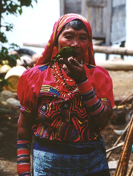 San Blas Kuna people