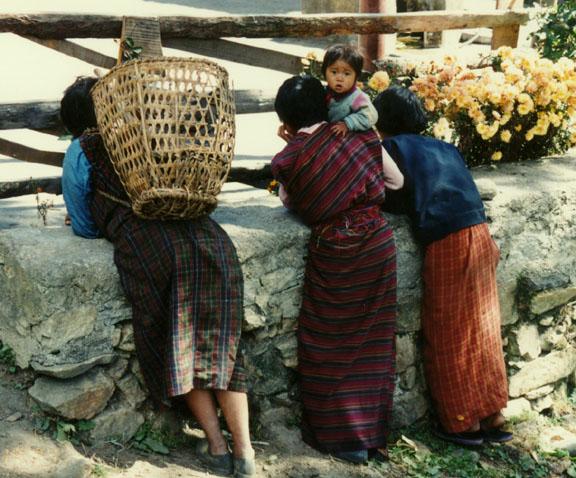 instructions on how to wear a bhutanese kira