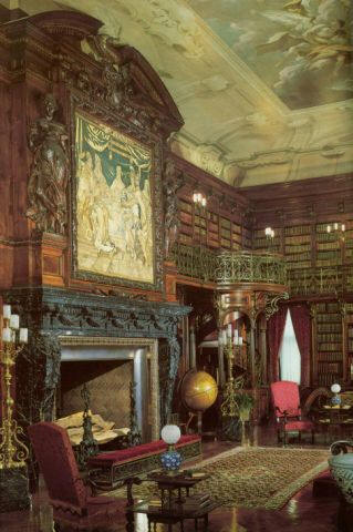 Library Room In House
